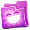 Pink-folder icon