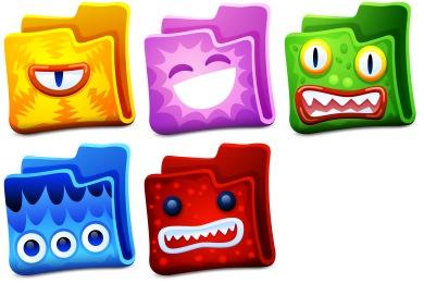 Creature Folders Icons