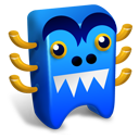 Blue creature icon