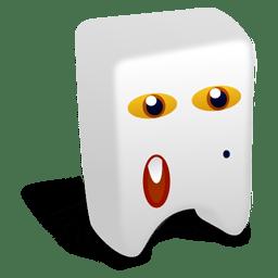 White creature icon