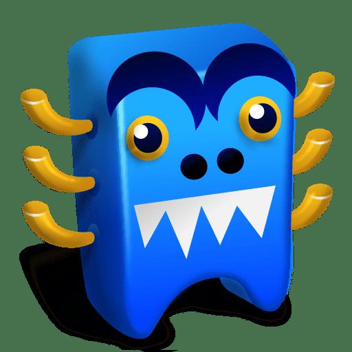 Blue-creature icon