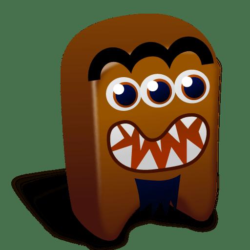 Brown creature icon