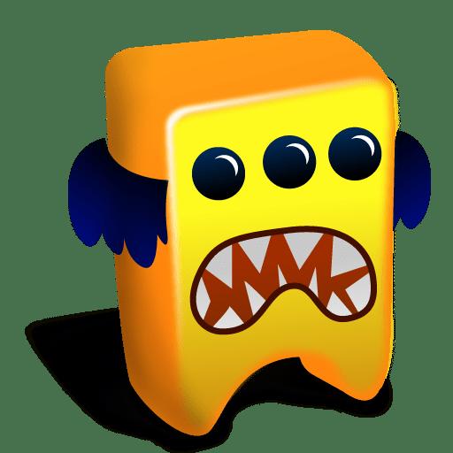 Orange-creature icon