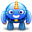 Blue-monster icon