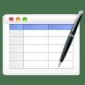 Table-edit icon