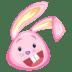 Pink-rabbit icon