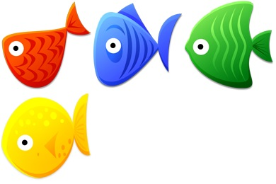 Fish Toys Icons