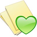 Documents yellow fav icon