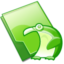 Folder penguin icon