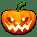 Halloween-nervous icon