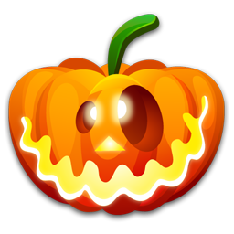 Halloween crazy icon