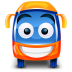 Bus-orange icon
