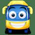 Bus-yellow icon