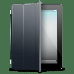 iPad Black black cover icon