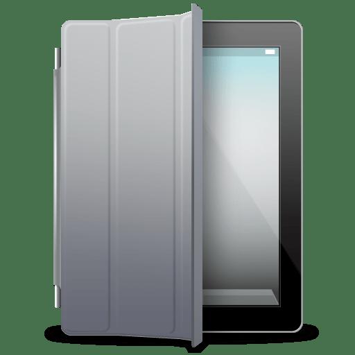 IPad-Black-gray-cover icon