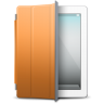 IPad-White-orange-cover icon