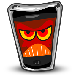 iPhone Angry icon
