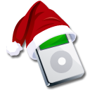 Ipod santaclaus icon