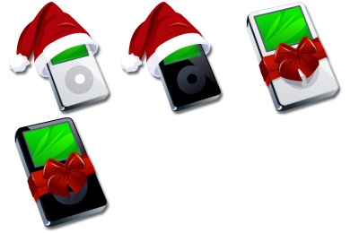 iPod Christmas Icons
