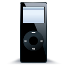 iPod nano black 1 icon