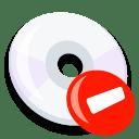 Cd remove icon
