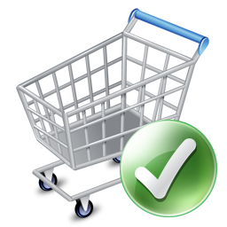 Shop cart apply icon