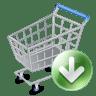 Shop-cart-down icon