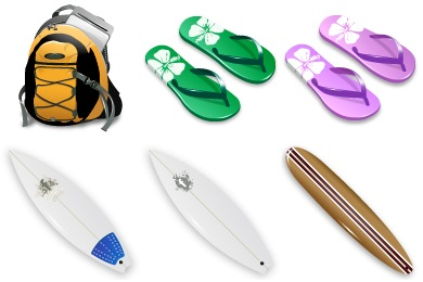 Surf Icons