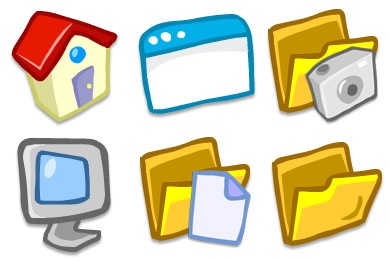 Toon System Icons