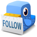 Bird follow icon