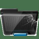 Broken folder icon