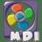 Filetype movie mdi icon