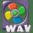 Filetype movie wav icon