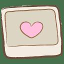 Image heart icon