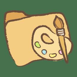 Folder art icon