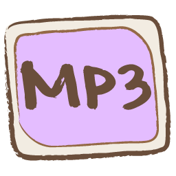 Mp3 File Icon Whistlepuff Iconset Firstfear