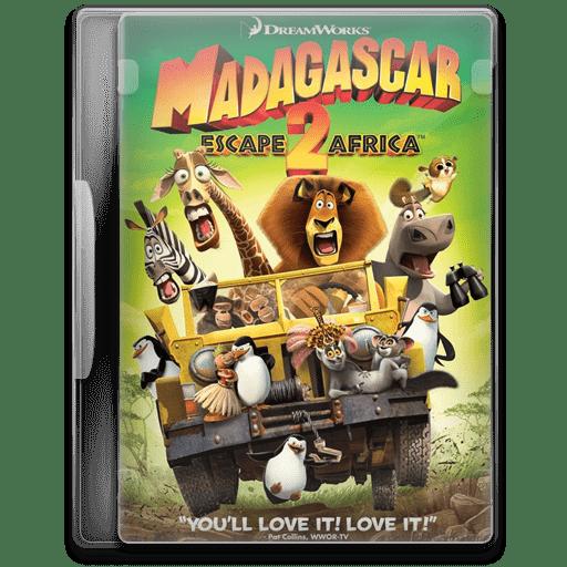 Madagascar Escape 2 Africa Icon Movie Mega Pack 2 Iconset Firstline1
