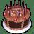Birth-cake icon