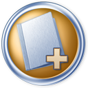Toolbar-folder-add icon