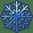 Blue-snow icon