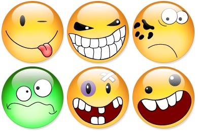 Aqua Smiles Icons