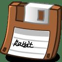 Floppy brown icon