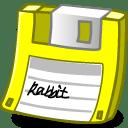 Floppy yellow icon