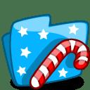 Folder Xmas icon