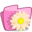 Folder-Flower-Beige icon