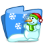Folder Winter icon