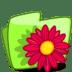 Folder-Flower-Red icon