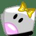 Folder-Girl-Yellow icon