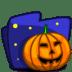 Folder-Halloween icon