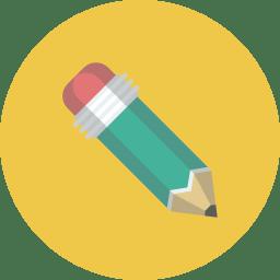 Pencil Icon Flat Iconset Flat Icons Com